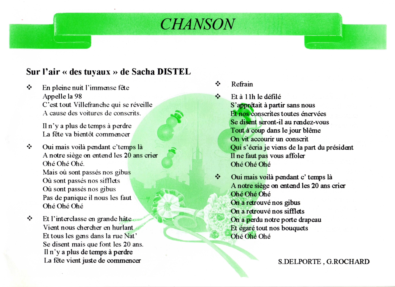 Mais Ou Sont Passé Les Tuyaux index of /photos/sonnets/chansons_des_20_ans/8